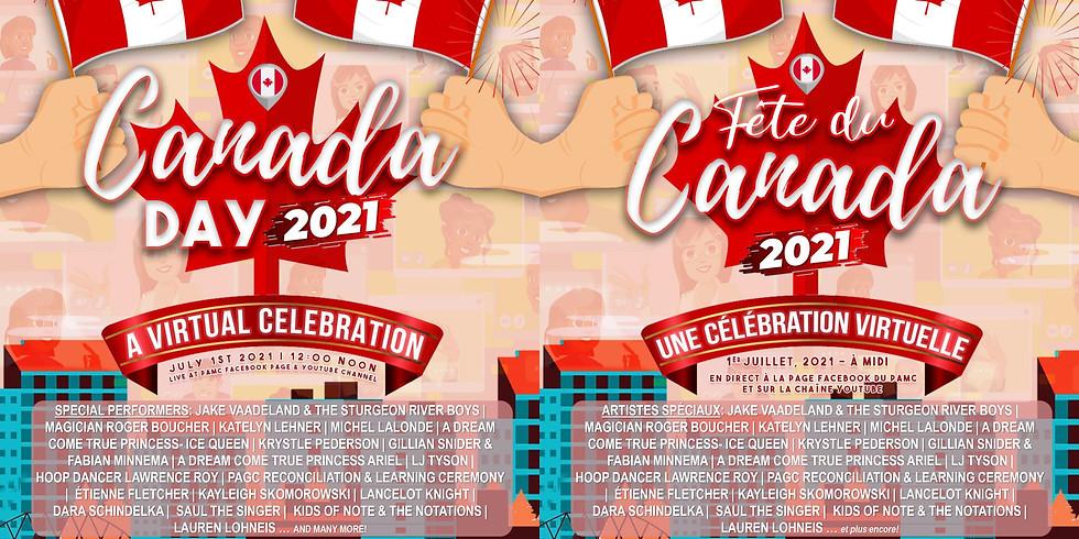 Canada Day Celebration (VIRTUAL EVENT)