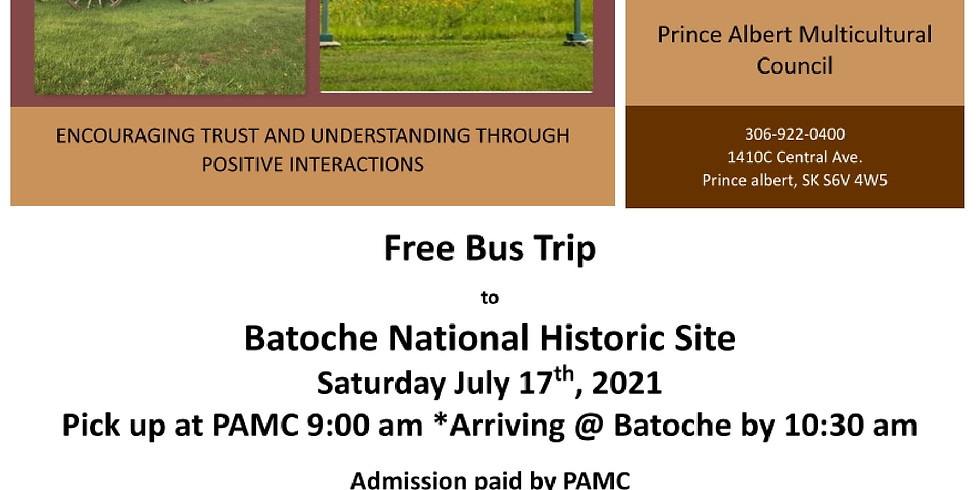 Bus Trip to Batoche National Historic Site
