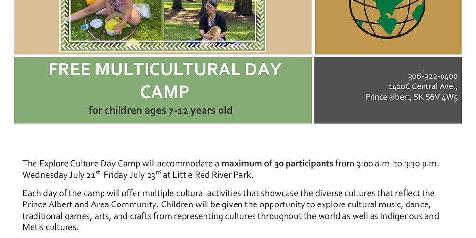 Multicultural Children's Summer Day Camp 2021