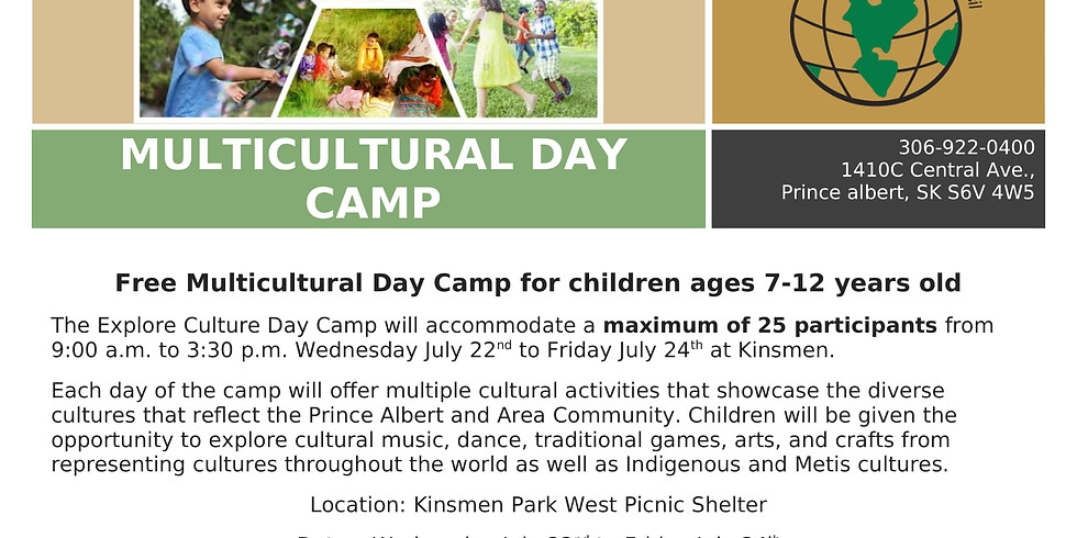 Multicultural Children's Day Camp 2021