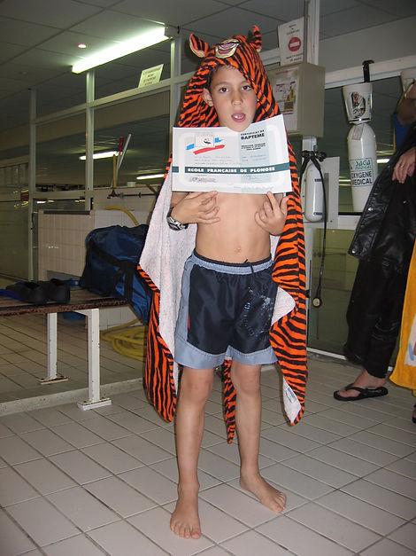 formation plongée enfant paris plongee