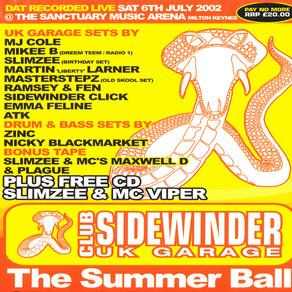 Club Sidewinder - 02nd June 2002