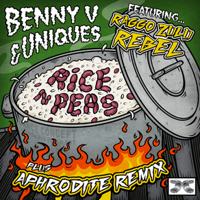 Benny V & DJ Uniques Feat. Raggo Zulu Rebel - Rice n Peas