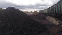 Уголь в Омске