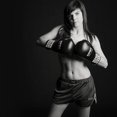 fitness boksen meisje