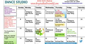 March 2020 Studio Calendar