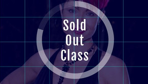 Sold Out Class 2/25/20