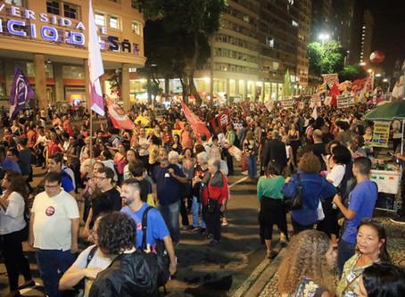 Crise do governo foi combustível para os atos contra a Reforma no dia 22