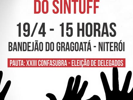 Assembleia de Niterói para eleger delegados ao CONFASUBRA será dia 19/4