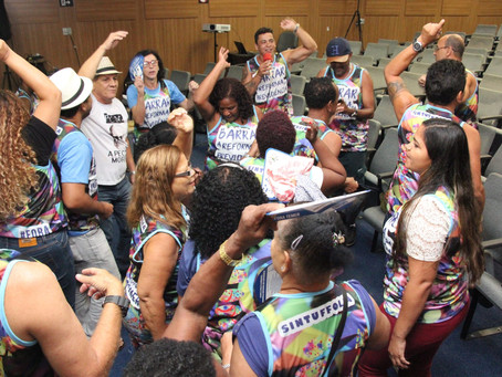 SINTUFF invadirá o carnaval para protestar contra a Reforma da Previdência