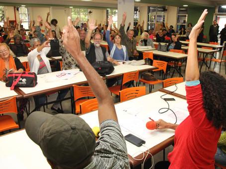 Assembleia Geral aprova greve dia 10/11