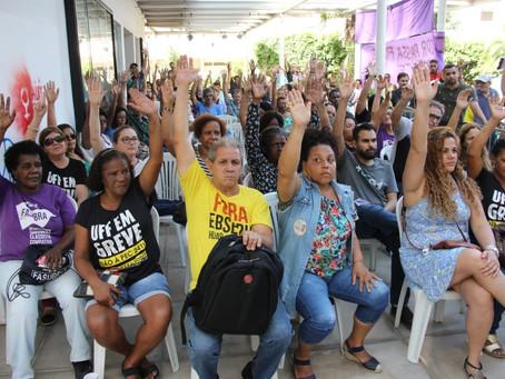Agora é greve! Assembleia aprova parar a partir de 10 de outubro