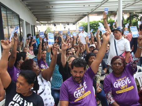 Avança a mobilização de greve