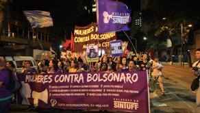 SINTUFF ocupa as ruas nos atos do Dia Internacional da Mulher