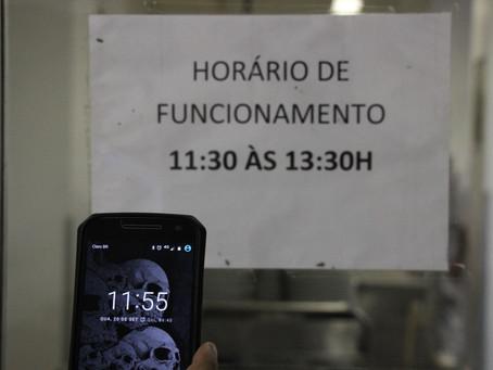 Atrasos constantes no bandejão do HUAP  prejudicam servidores e estudantes