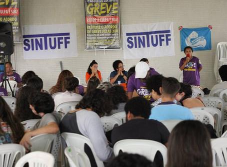 Almoço Cultural fortalece diálogo com estudantes sobre a greve