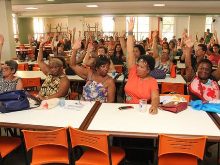 Assembleia rejeita suspensão da greve proposta pelo Comando Nacional