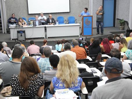 Durante o CUV, reitor promete Audiência Pública sobre 30 horas