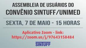 Usuário do convênio SINTUFF/Unimed, participe da Assembleia