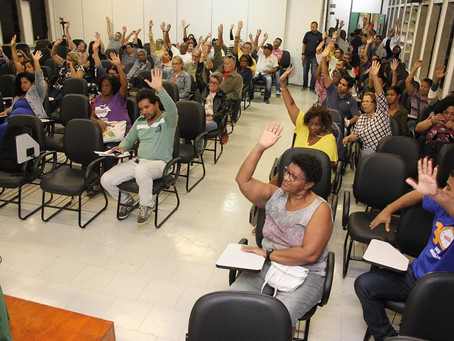 Paralisação 23/5 por reajuste, contra os cortes e as políticas de privatização