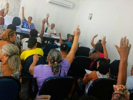 Delegacia de Base de Aposentados realiza sua primeira reunião