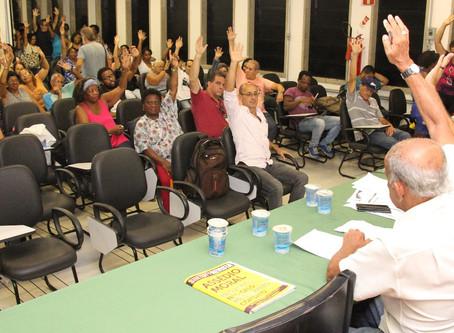 Assembleia elege delegados à Plenária da FASUBRA e aponta os rumos das lutas em 2018