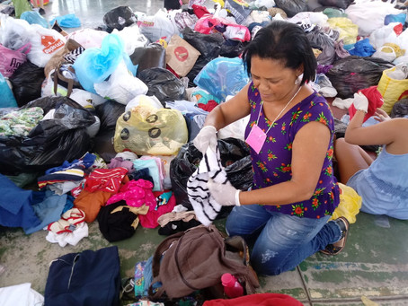 Solidariedade aos moradores do Morro Boa Esperança