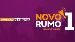 SINTUFF apoia chama Novo Rumo nas eleições do CPERS