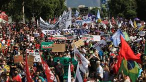 29M: Atos expressaram a urgência do Fora Bolsonaro