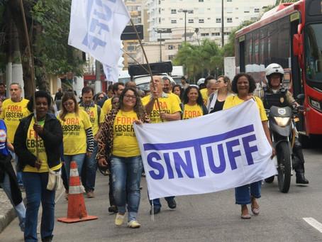 SINTUFF se mobiliza no Dia Nacional do Basta