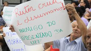 Decisão liminar impede cortes na remuneração de aposentados da UFF