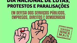 Hora de lutar por salário e barrar a Reforma Administrativa