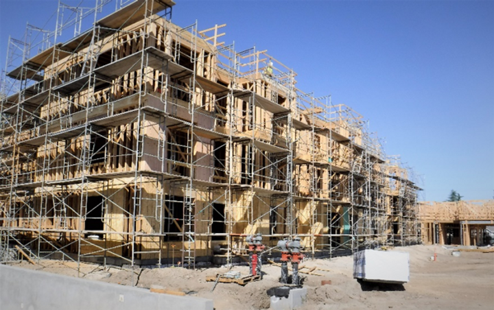 DURING CHESTNUT SQUARE CONSTRUCTION