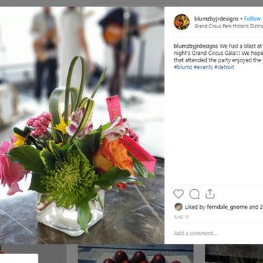 Instagram Post for Blumz by JRDesigns