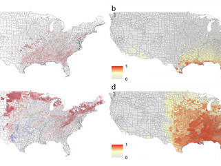 Mapping the spread of the Aedes aegypti and Aedes albopictus mosquitoes