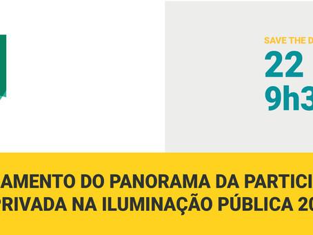 Acompanhe no YouTube o lançamento do Panorama da Participação Privada na Iluminação Pública