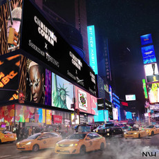 New York Times Square Animated Graphics