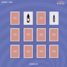 HASK beauty brand Memory Game Digital co