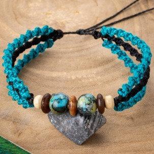 Bracelet Tulum Bleu