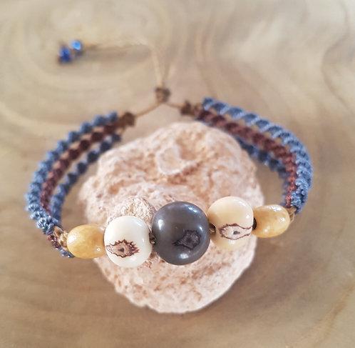 Bracelet Tulum Gris