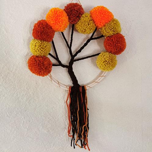 Arbre de vie couleurs d'automne
