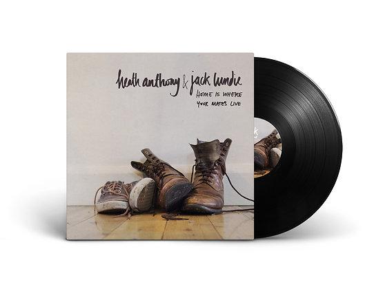 "Heath Anthony/Jack Lundie Split 10"" Vinyl"