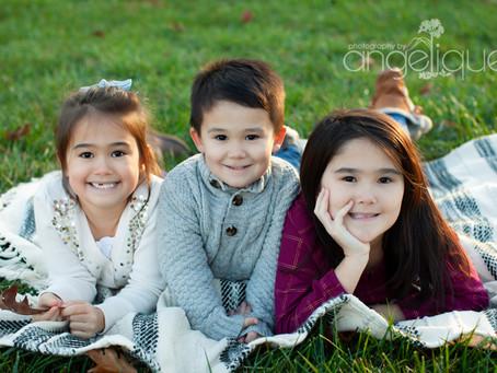 Beautiful Fall Family Session!