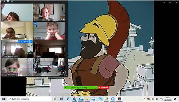Интерактивный просмотр мультиков