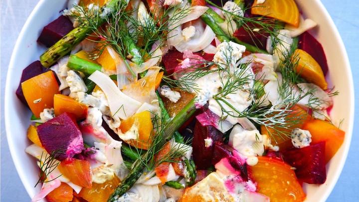 Recipe: Roasted Beet Salad 🥗
