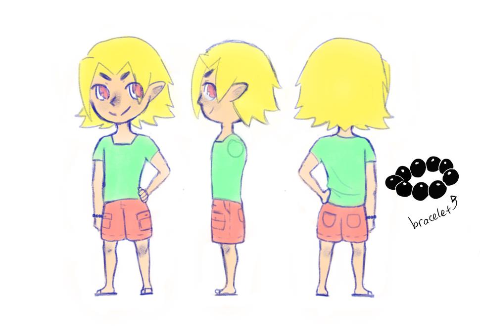 Elf boy concept