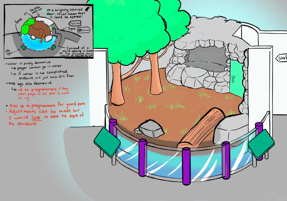 Bear Enclosure Concept