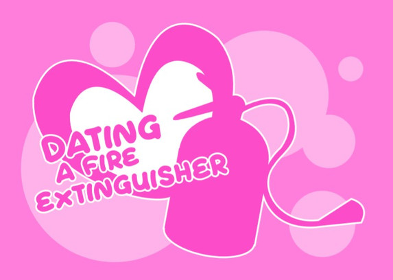 Dating A Fire Extinguisher Logo