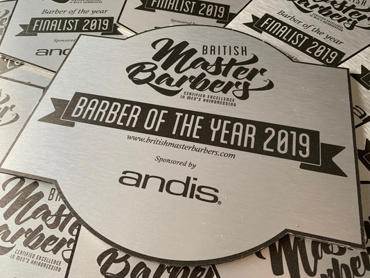 BRITISH MASTER BARBER OF THE YEAR 2019 sponsored by Andis