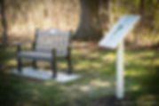 Bench installed in memory